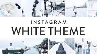 How I Edit My Instagram Photos (White Theme)