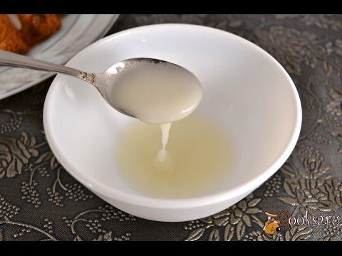 Сахарная глазурь для кексов, куличей, печенья