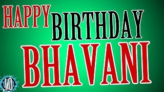 HAPPY BIRTHDAY BHAVANI! 10 Hours Non Stop Music & Animation For Party Time #Birthday   #Bhavani