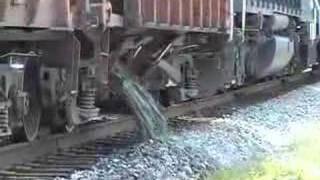 CSX Ballast Train