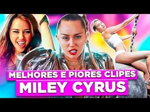 TOP 10: MELHORES E PIORES CLIPES DA MILEY CYRUS | Diva Depressão
