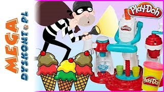 ZŁODZIEJ w LODZIARNI  Agata pracuje w lodziarni Play Doh