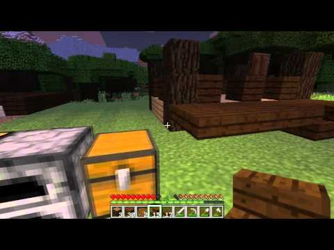 Minecraft Kapışması W/ Oyun Portal #1 - Ev Yapmak