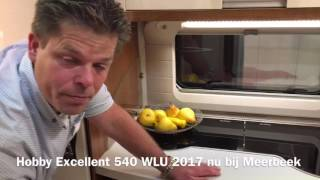 Review Hobby Excellent 540 WLU 2017 te koop bij Meerbeek Caravans en Campers