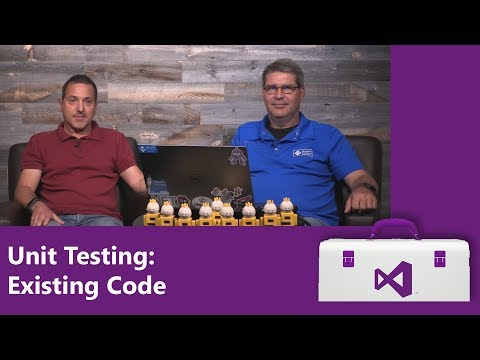 Unit Testing: Existing Code