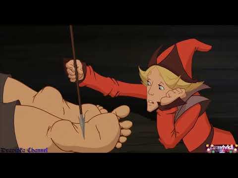 Елисей Пытается Разбудить Добрыню ... отрывок из мультфильма (Добрыня Никитич и Змей Горыныч)2006