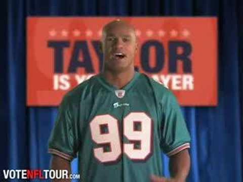 NFL Tour Cover Campaign - Jason Taylor