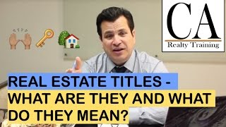 Real Estate Agent, Realtor, Broker- What's the Difference?