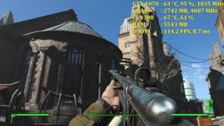 Fallout 4 | GTX 1070 | Max Settings 1080p (Vanilla, No Mods)