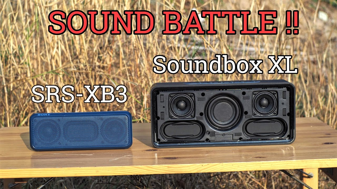 Sony SRS-XB30 - charging by USB - YouTube