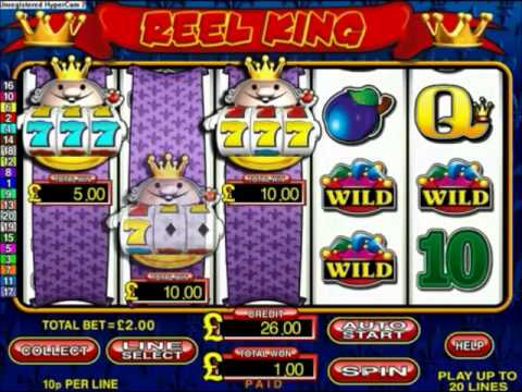 online casino signup bonus reel king
