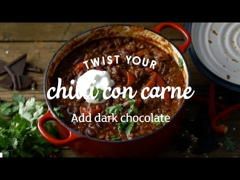 Chilli Con Carne With Chocolate | Little Twists