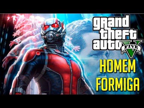 GTA 5 – ANT MAN MOD