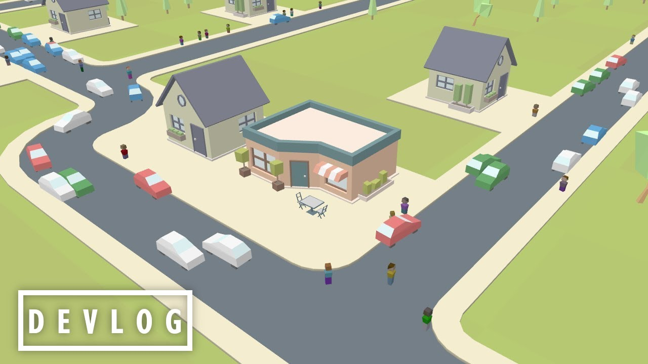Programming Cars for my City-Builder Game