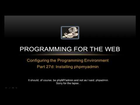 How to install PHPMyAdmin on a RaspberryPi – Programming for the Web