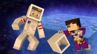 Minecraft | EN EL ESPACIO!! c/ Vegetta | Minijuego BUILD BATTLE