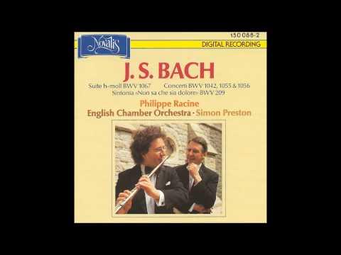 J. S. BACH - Philippe Racine, English Chamber Orchestra, Simon Preston