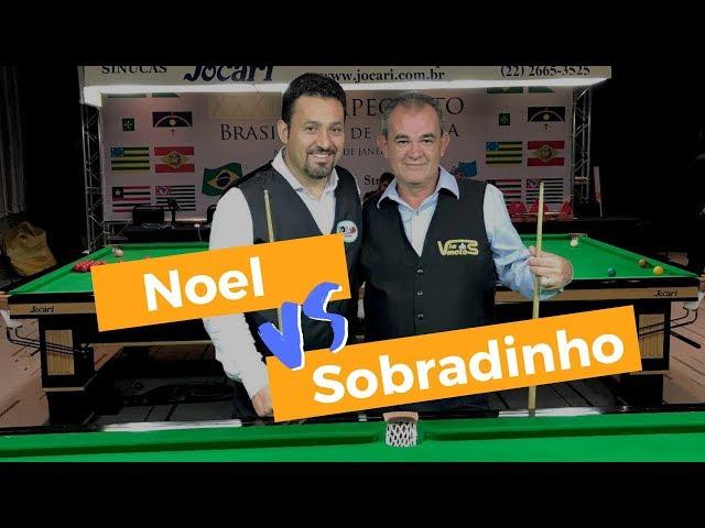 Noel vs Sobradinho - Melhores Momentos - Final do Brasileiro de Snooker 2017 Master 40