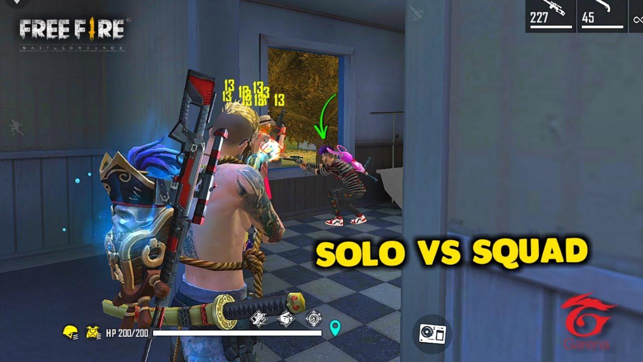 Ajjubhai Solo vs Squad Purgatory Brasilia Best Gameplay Moment - Garena Free Fire