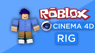How to make a Roblox Rig in Cinema 4D (+Shading & Shiny)