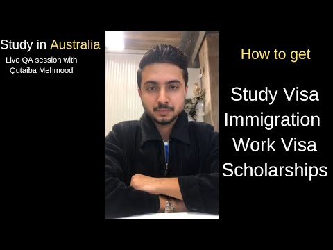 Information regarding Study Scholarships and Immigration in Australia