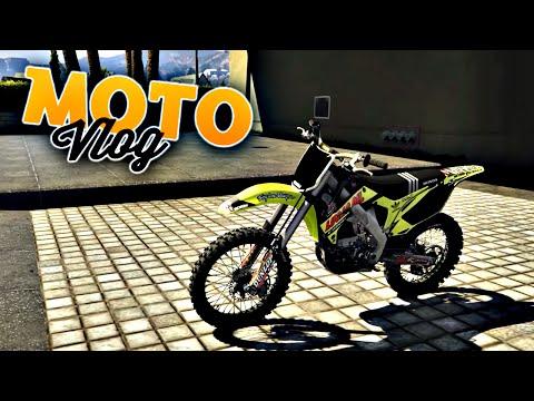 GTA V - Moto Vlog - Honda CR450R 2009 #41