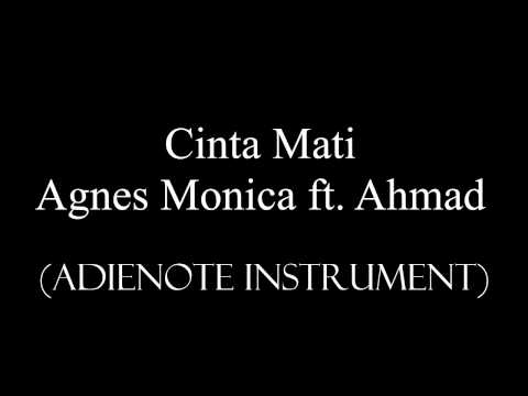 Agnes Monica Ft. Ahmad Dhani - Cinta Mati (Karaoke - Cover AdieNote Instrument)