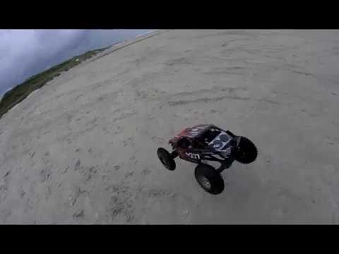 Axial Yeti XL 6 S  -  Beachfun In Denmark