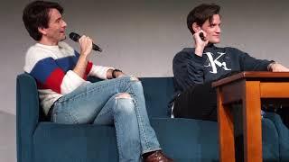David Tennant and Matt Smith - on narrating nature programmes (Wales Comic Con)
