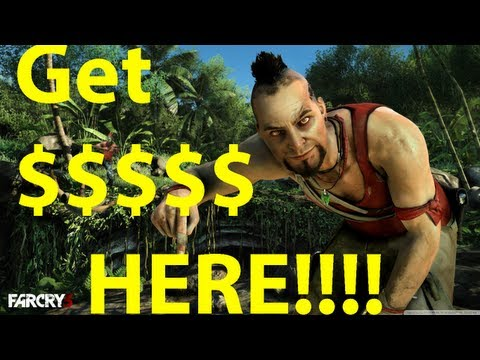 Far Cry 3 Unlimited Money Cheat -Unlimited $$$$$$-