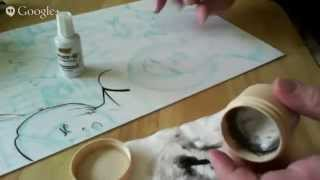 """Live inking- """"Alice"""" Allison Blizzard in Zombieland with Raphael 8408 page 5"""