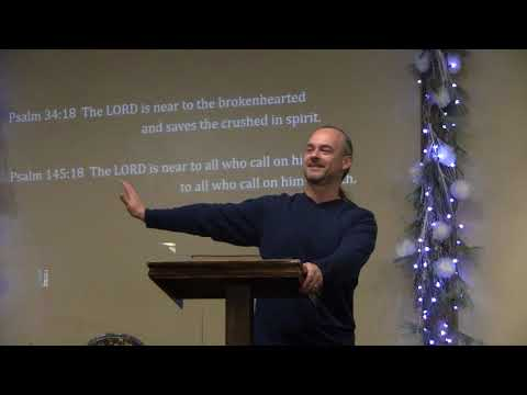 January 7, 2018: Re-Orient: Prayer and Intimacy - ECB Sermon