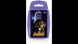 Top Trumps 'Infinity War' card game by Winning Moves - a closer look, licensed by Marvel Studios