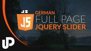 Easy Full Page Slide Show mit jQuery und CSS3 [Tutorial]
