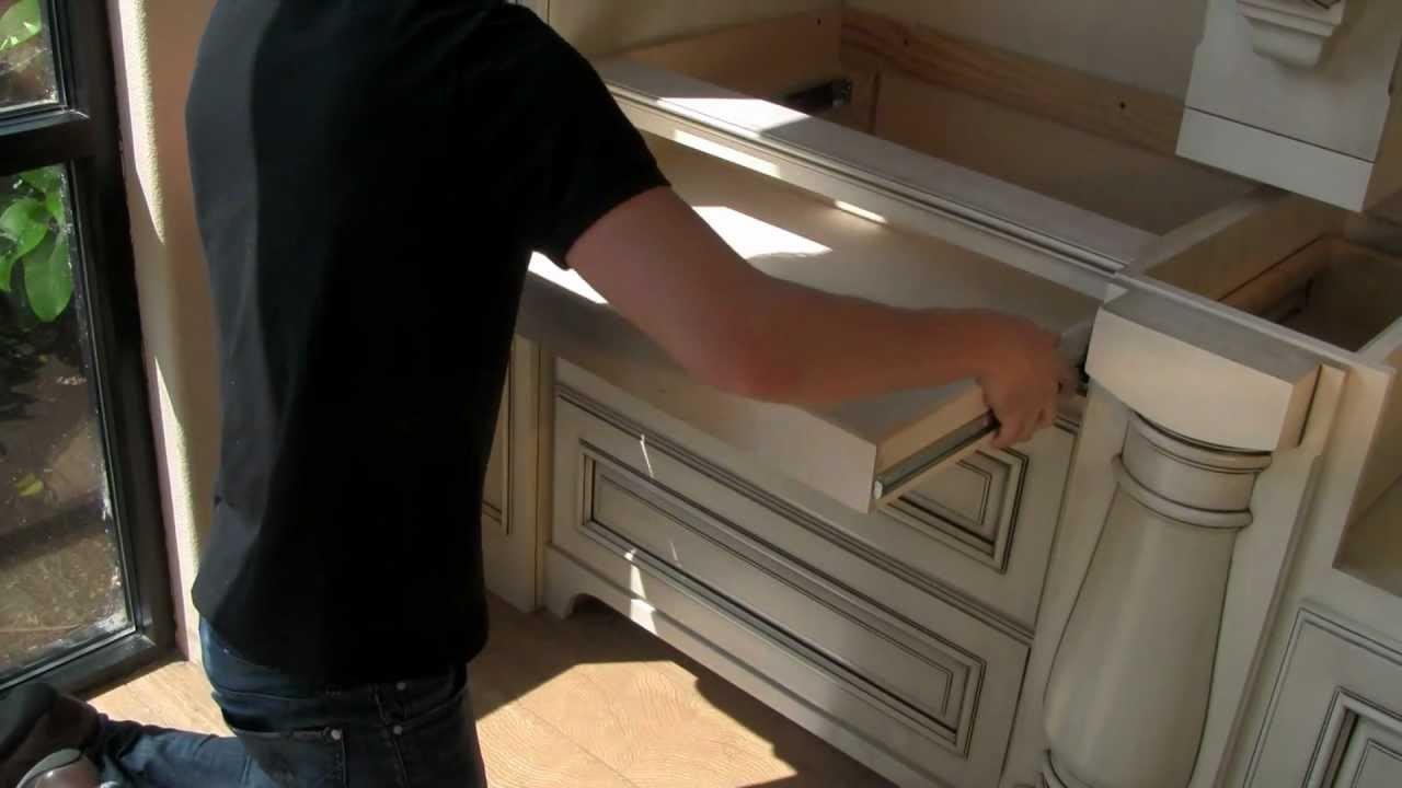 How to install KV side mounted drawer slides into your cabinets ...