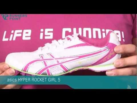 a6e424f8b491 ASICS HYPER ROCKET GIRL 5 SPIKES - YouTube