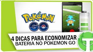 4 Dicas e Truques para economizar bateria no Pokemon GO