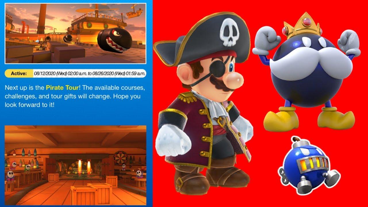 Predicting The Next Tour Pirate Tour Mario Kart Tour Youtube