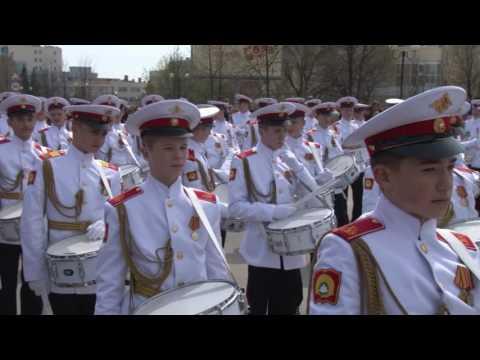 Парад Верхняя Пышма 9 мая 2017 г