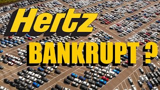 Hertz Bankrupt? Will Used Car Prices Drop From A Hertz Rental Car Bankruptcy? Htz