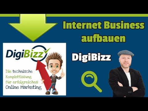 Internet Business aufbauen mit der Digibizz Lösung