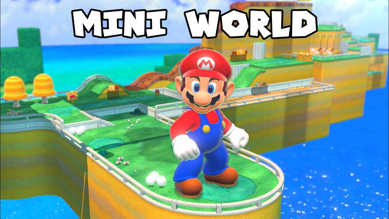What If Every Level Was Smaller in Super Mario 3D World?