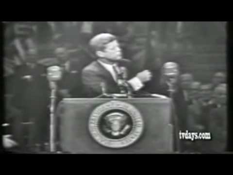 John  F Kennedy argues for universal healthcare