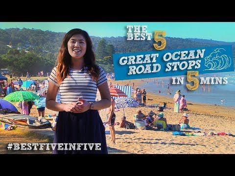 Melbourne's Five Best Great Ocean Rd Stops In Five Minutes With Annie Louey