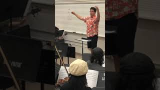 Rehearsal with the UC Davis Video Game Orchestra 04/19/19