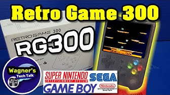 Retro Game 300: The FULL Guide to Firmware Upgrade, Unbox, Setup and Review of the RG 300 +MAME