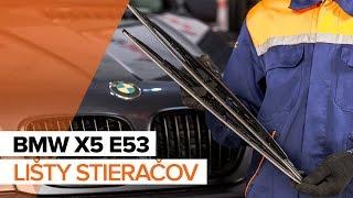 Ako nahradiť Ložisko tlmiča BMW X5 (E53) - příručka