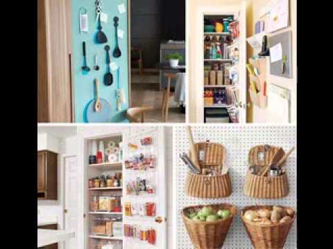 Very small kitchen decorating ideas  YouTube