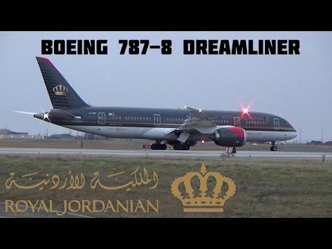 Royal Jordanian Boeing 787-8 Dreamliner Take-off @ Toronto Pearson