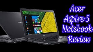 "Acer Aspire 5 Notebook Review - 15.6"" FHD 